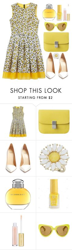 """Untitled #4660"" by natalyasidunova ❤ liked on Polyvore featuring RED Valentino, Francesco Russo, Dorothy Perkins, Burberry, Dolce&Gabbana and Linda Farrow"