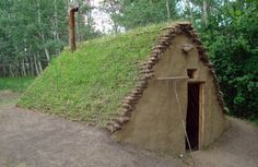 The Burdei dates back 6000 years and is a type of half-dugout shelter between a sod house and a log cabin, with a floor that's 1 – 1.5 meters underground. | Tiny Homes
