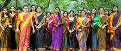 women in Dharwad sarees #mystatewithjaypore