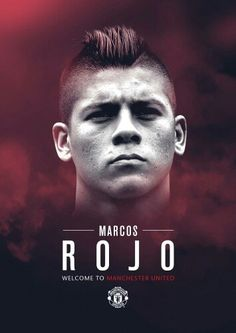 Marcos Rojo. Welcome to Man Utd.