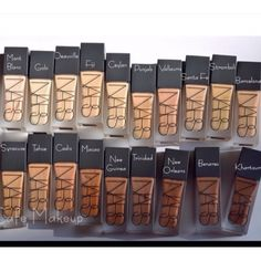 Nars foundation shades
