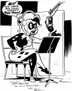Harley Quinn by Bruce Timm