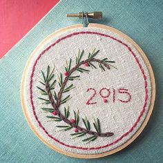 There's a very sweet and simple embroidery project by my friend @robert_mahar over on the @creativelive blog! #embroidery by sublimestitching