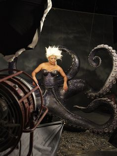 """QUEEN lATIFAH AS uRSULA 