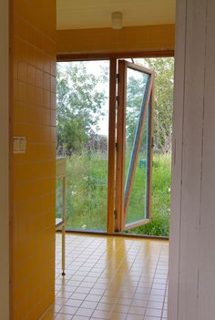 #Architecture #Design #Interior #interiordesign #wood #Cabin #Summer #Sweden #Grebbestad  #Scandinavia #landscape #bathroom #HaraldLode