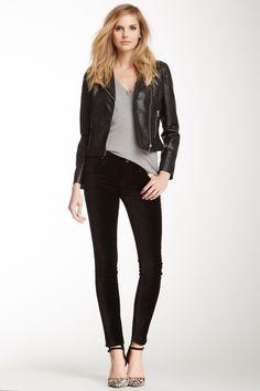 The Skinny Velvet Pant on HauteLook