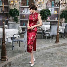 チャイナ服 チャイナドレス ニュースタイル 結婚式ドレス--九六商圏 - 海外ファッション激安通販サイト   海外通販   個人輸入   日本未入荷の海外セレブファッション