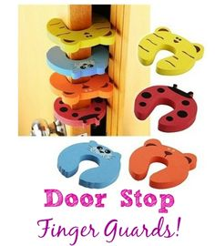 So perfect for my little ones. We have seen a lot of smashed fingers in doors at my house :(