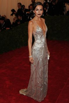 Camilla Belle at the #metball in Ralph Lauren 2012 – Gatsby style
