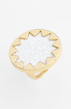 House of Harlow 1960 Sunburst Oversized Cocktail Ring available at Nordstrom