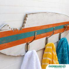 Pranchas antigas? Use-as de uma forma diferente.   #inspiração #Reuse #surf #pranchas #diy #decoracao
