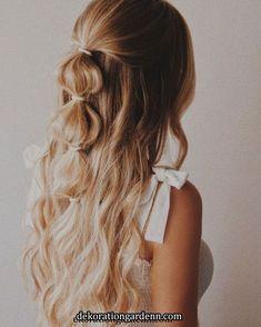 Haarstyling - New Sites Braided Hairstyles Updo, Party Hairstyles, Fringe Hairstyle, Hairstyle Ideas, Hairdos, Wedding Hairstyles, School Hairstyles, Elegant Hairstyles, Vintage Hairstyles
