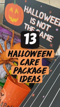 Halloween Care Packages, Deployment Care Packages, Packaging, Gift Ideas, Crafty, Wrapping