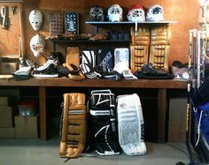 Goalie gear workshop