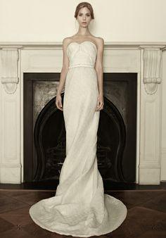 Sophia Kokosalaki strapless wedding dress