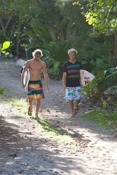 Julian Wilson and Clay Marzo, if only this was who casually walked arround were I lived