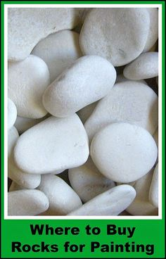 Painting Rock & Stone Animals, Nativity Sets & More: Where Can I Find Rocks for Painting?