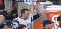New party member! Tags: football nfl patriots new england patriots tom brady brady ne patriots pats national high five day left hanging high five fail leave me hanging