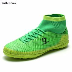 64d85cc84d1 High Ankle Football Boots Kids Botines Botas Futbol 2017 Youth Superfly  Soccer Sports Shoes Outdoor Training