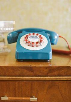 Aretha Rotary Phone   Modern Vintage Home & Office