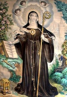 Saint Gertrude Obsessed with cats? Gertrude can relate; she's the Patron Saint of Cats. Catholic Saints, Patron Saints, Roman Catholic, Roman Church, Catholic Art, Religious Images, Religious Icons, Religious Art, Catholic Online