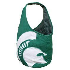 Michigan State Spartans Women's Big Logo Hobo Bag