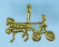Hackney Driving Pendant - The Gorgeous Horse
