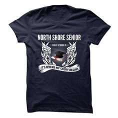 North Shore Senior High School - Its Where My Story Begins T-Shirt Hoodie Sweatshirts ioi. Check price ==► http://graphictshirts.xyz/?p=54321