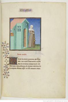 Publius Terencius Afer, Comoediae [comédies de Térence] 1400-1500 Bibliothèque de l'Arsenal, Ms-664 réserve 66r