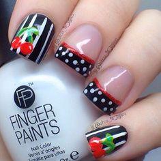 love these nails! #nail #nails #nailart | See more at http://www.nailsss.com/colorful-nail-designs/2/