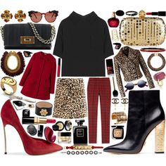 """Love the coats and shoes.  """"Miu Miu Cropped Blouse With Self-Tie Back"""" by mauriciofredes on Polyvore"""
