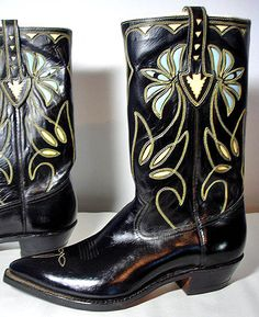 1950s ACME Cowboy Boots - never worn!