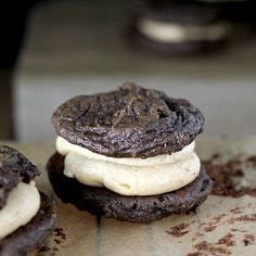 Chocolate Peanut Butter Whoopie Pies {Joy the Baker Spotlight}...and a GIVEAWAY! | Joanne Eats Well With Others