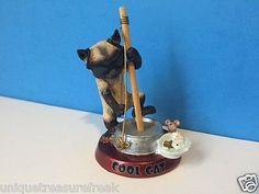 DANBURY MINT CURIOUS KITTIES CAT KITTEN FIGURINE COOL CAT SHADES MUSICIAN HOBO