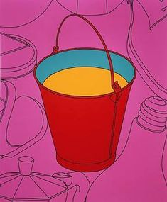 The official website for Michael Craig-Martin Purple Umbrella, James Rosenquist, Michael Craig, Kids Computer, Claes Oldenburg, Wall Fans, Wall Drawing, Famous Art, Everyday Objects
