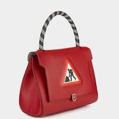 Men at Work Small Bathurst Satchel - Anya Hindmarch Working Man, Anya Hindmarch, Soft Suede, Beautiful Bags, Luxury Handbags, Fall Winter, Autumn, Satchel, Shoulder Bag