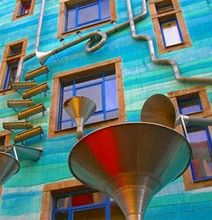 This building plays music when it rains.. <3