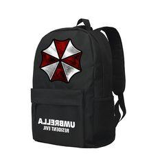 $28.69 (Buy here - https://alitems.com/g/1e8d114494b01f4c715516525dc3e8/?i=5&ulp=https%3A%2F%2Fwww.aliexpress.com%2Fitem%2FBackpack-Resident-Evil-Shoulder-Bag-Warning-Umbrella-Corporation%2F32731196001.html) Zshop Backpack Resident Evil Shoulder Bag Warning Umbrella Corporation