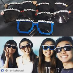 """De Los Ninjas on Instagram: """"#Mahalo for the ❤️ and you make our #delosninjas #sunnies look great. If you don't already follow this amazing band out of #Hawaii you should and if you're in the #Honolulu area be sure to catch one of their gigs. #ninjas❤️Emke #alohaninjas #ninjastyle #sunglasses #oahu #shades #summer #supportlocalartists #ninjas❤️music #prince #pizza #dontworrybeyonce #whendoweeat #sushi #partylikeits1999 Repost @emkehawaii ・・・ looooooove our glasses from @delosninjas ❤️❤️❤️"""""""