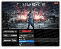 Play NBA game online with active nba 2k17 locker codes