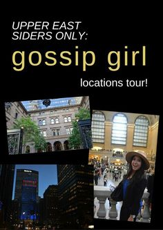 There's a Gossip Girl locations tour in New York! See Serena, Blair, Dan and Nate's stomping grounds on your visit to Manhattan!
