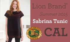 Let's crochet a Sabrina Tunic … announcing your 2015 Summer Crochet-Along with host Elena Ramshaw Hunt!
