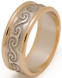 Newgrange Celtic Spiral with Rims