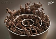 McCafe: Animals From DDB Austria for McDonald's.
