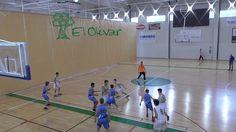 Club baloncesto Olivar infantil A - VRS Tudela 1º Cuarto