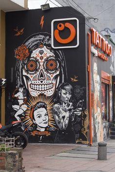 Art Project Colombia - Toxicomano #StreetArt