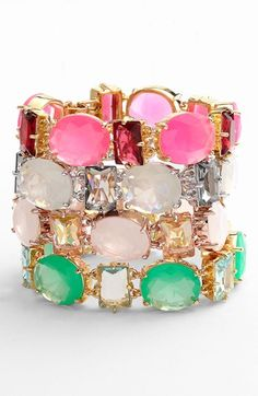 kate spade new york 'hancock park' line bracelet (Nordstrom Exclusive) available at #Nordstrom