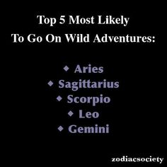 My best friends are Leo Aries and Sagittarius... And I'm a Scorpio! Obviously fun times!
