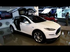 2014 Tesla Model X - Exterior and Interior Walkaround - 2013 Detroit Auto Show  Welcome to AutoMotoTube!!!   On my channel you will find videos of cars, motorcycles, motorboats, yachts, motor homes and everything that moves on wheels or in the water. In most of my short videos (2-5min), I take a look at the exterior design and interior arrangement...