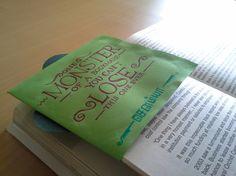 1 Monster Bookmark... :)
